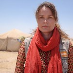 Anja Riiser is NRC's Area Manager for Baghdad. Photo taken in Ikram Al fallujah camp in Amiriyat Al Fallujah where NRC is present providing the newly displaced families from fallujah with wa ...