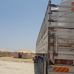 NRC delivers clean drinking water to newly displaced families from Fallujah. Photo: NRC/ Becky Bakr Abdulla
