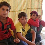 Mohammed (7), Barakat (10) and Imad (8) are brothers from Al Hsay - a village outside Fallujah city. Together with their mother, Iman and their father and their little sister Dina (4 months) ...
