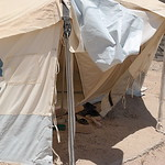 NRC is present in Al Iraq camp in Amiriyat Al- Fallujah, Anbar providing newly displaced families from Anbar and Fallujah with water, food parcels and hygiene kits.  Photo: NRC/Becky Bakr A ...