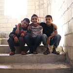 Left to right: Houssam, Rami and Salim The three boys are Syrian refugees in Lebanon and they are beneficiaries of the Occupancy Free of Charge (OFC) Project in Minieh, North Lebanon NRC Leb ...