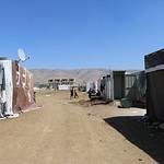 Informal tented settlement