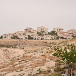 The settlement of Maale Adumim surrounds the community of Wadi Al Jimel, where a community of Palestinian Bedouin refugees from Beer Sheva is facing the threat of forced eviction, home demol ...